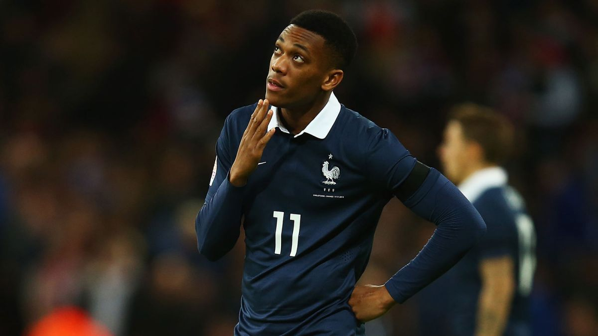 Image result for antonio martial france
