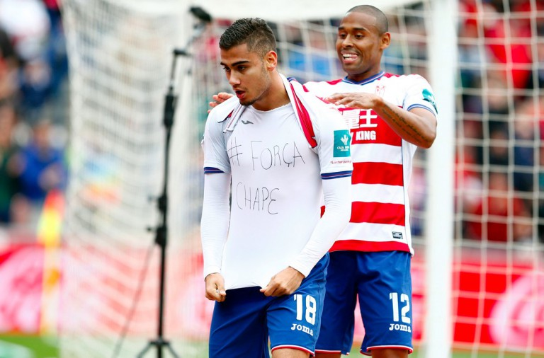 VIDEO: Pereira booked for Chape tribute