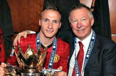 <> at Old Trafford on May 12, 2013 in Manchester, England.