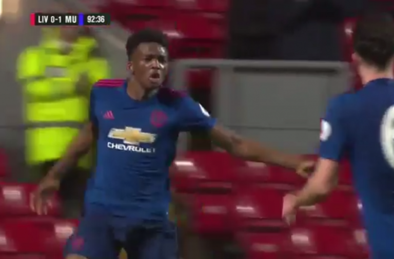 VIDEO: Injury time winner for United's U-23 vs Liverpool