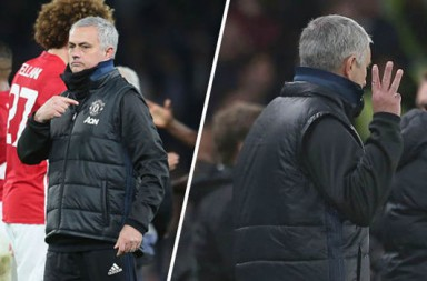 jose-mourinho-shows-chelsea-fans-what-he-really-thinks-by-pointing-to-man-united-badge