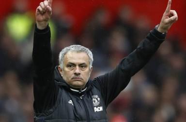 mourinho celebrate