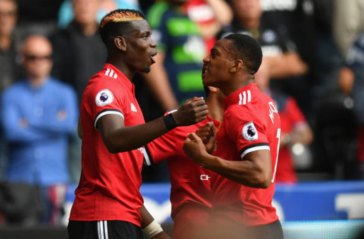 Mourinho: Martial is working hard and it's paying off