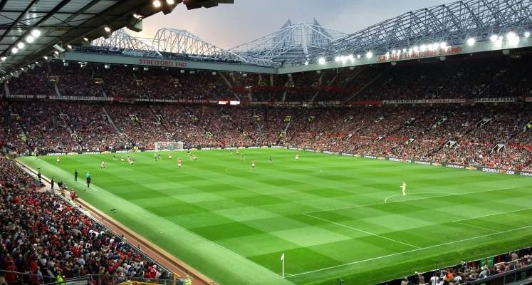 trafford united manchester fc away stadium football stand section club alex league ferguson sir biggest ground hire minibus liverpool area
