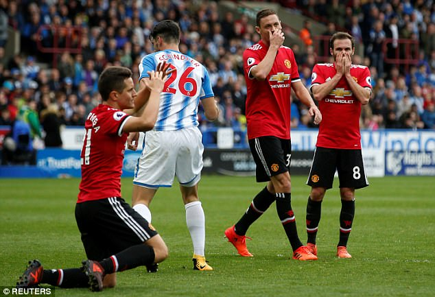 Huddersfield 2-1 Man Utd: The main talking points