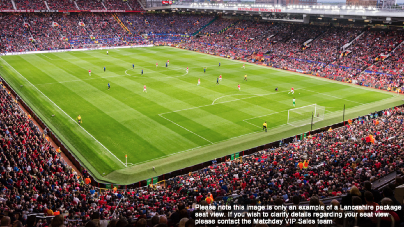 United's final home game of the season - win VIP match day package