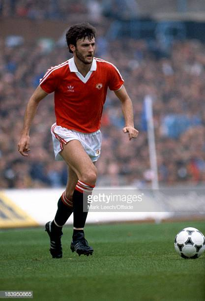 11/4/1981 English Football League Division One - Coventry City v Manchester United, United striker Garry Birtles. (Photo by Alan Cozzi/Mark Leech Sports Photography/Getty Images)