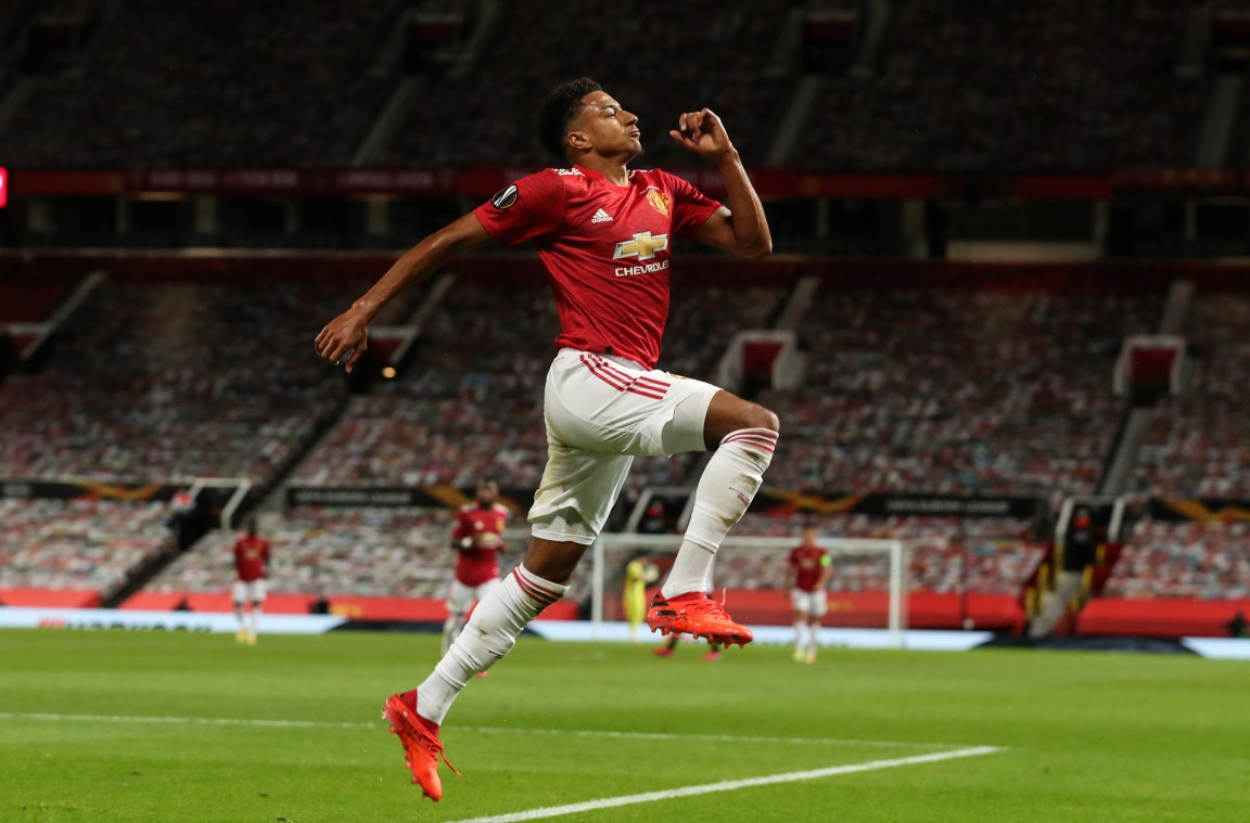 Lingard: United's in my blood and I love playing for this club