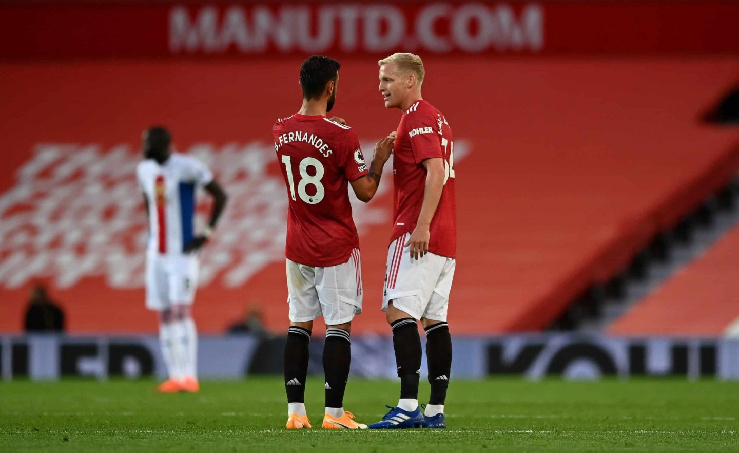 What's Van de Beek's best position for Man United?