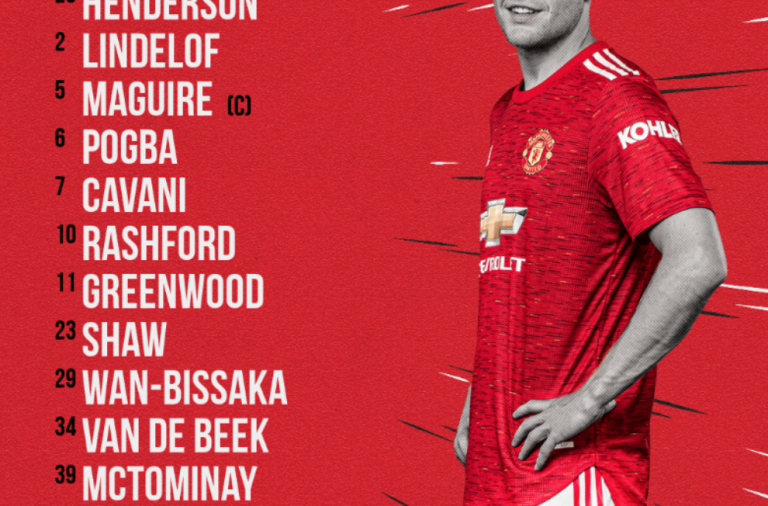 CONFIRMED LINE-UP: United vs Liverpool (FA Cup) – VdB starts!